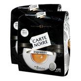 Café dosettes espresso Carte Noire