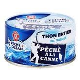 Thon entier Pêche Océan Naturel - 140g