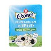 Fromage de brebis Les Croisés Herbes de Provence - 100g