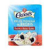 Fromage de brebis Les Croisés Poivre - 100g