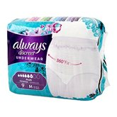 Always Culotte  Discreet Taille M - Plus - x9