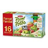Compotes Pom'Potes Materne Bio - Pomme - 16x90g