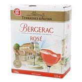 Terrasses d'Autan Vin rosé  Bergerac AOC - 3L
