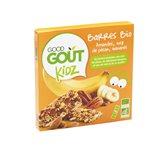 Good Goût - BIO - Kidz Barres Amandes Noix de Pécan Bananes dès 3 Ans 3 x 20 g - Lot de 3