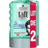 Schwarzkopf Gel coiffant Taft Effet mouillé 2x300ml