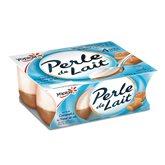 Yoplait Perle de lait Sur lit de caramel - 4x125g