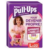 Huggies Culotte  Pull-Ups Fille L 16-23kg x22