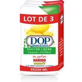 Dop Gel douche crème  Fraise/Banane - 3x250ml