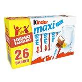 Kinder Barres  Maxi Chocolats - 546g