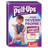 Huggies Culotte  Pull-Ups Garçon L 16-23kg x22
