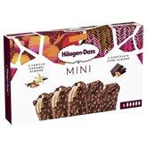 Häagen-Dazs Mini bâtonnets  Vanille Chocolat - 185g- x5