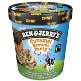 Ben & Jerry's Pot de glace  Caramel brownie Party - 426g