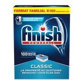 Finish Tablettes lave-vaisselle Finish Classic - x100 - 1.633kg