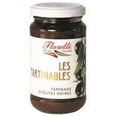Florelli Tapenade olives noires Florelli 190g