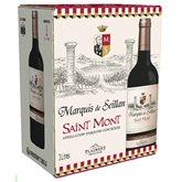 Saint Mont Vin rouge Marquis de Seillan  AOC - Bag in Box 3L