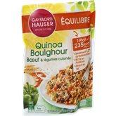 Gayelord Hauser Quinoa Gayelord Hauser Boulghour boeuf légumes - 250g