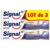 Signal Dentifrice  Intégral complet - 3x75ml