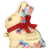 Lindt Lapin or Fleur rouge bleu Lindt Chocolat au lait - 100g