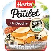 Herta Blanc de poulet Herta Broche - 120g
