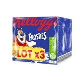 Kellogg's Barres Céréales Frosties Kellogg's - x3 lots de 6x25g