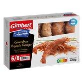 Gimbert Océan Gambas rouge Gimbert Ocean Sauvage royale 6/8 - 400g