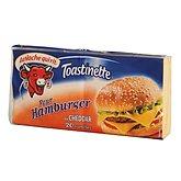 La vache qui rit Fromage  Au cheddar - Pour hamburger x20