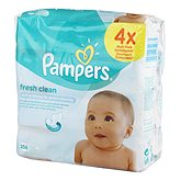 Pampers Lingettes  Babyfresh 4x64