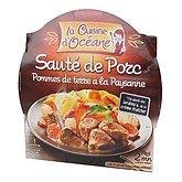 La Cuisine d'Océane Sauté de porc  Pommes de terre paysanne 300g