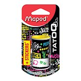 Maped Taille crayons  Mini canette tatoo +stickers x1