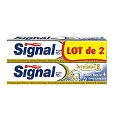 Signal Dentifrice intégral  Resist + fresh - 2x75ml